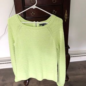 Bright green sweater from American Eagle. size M